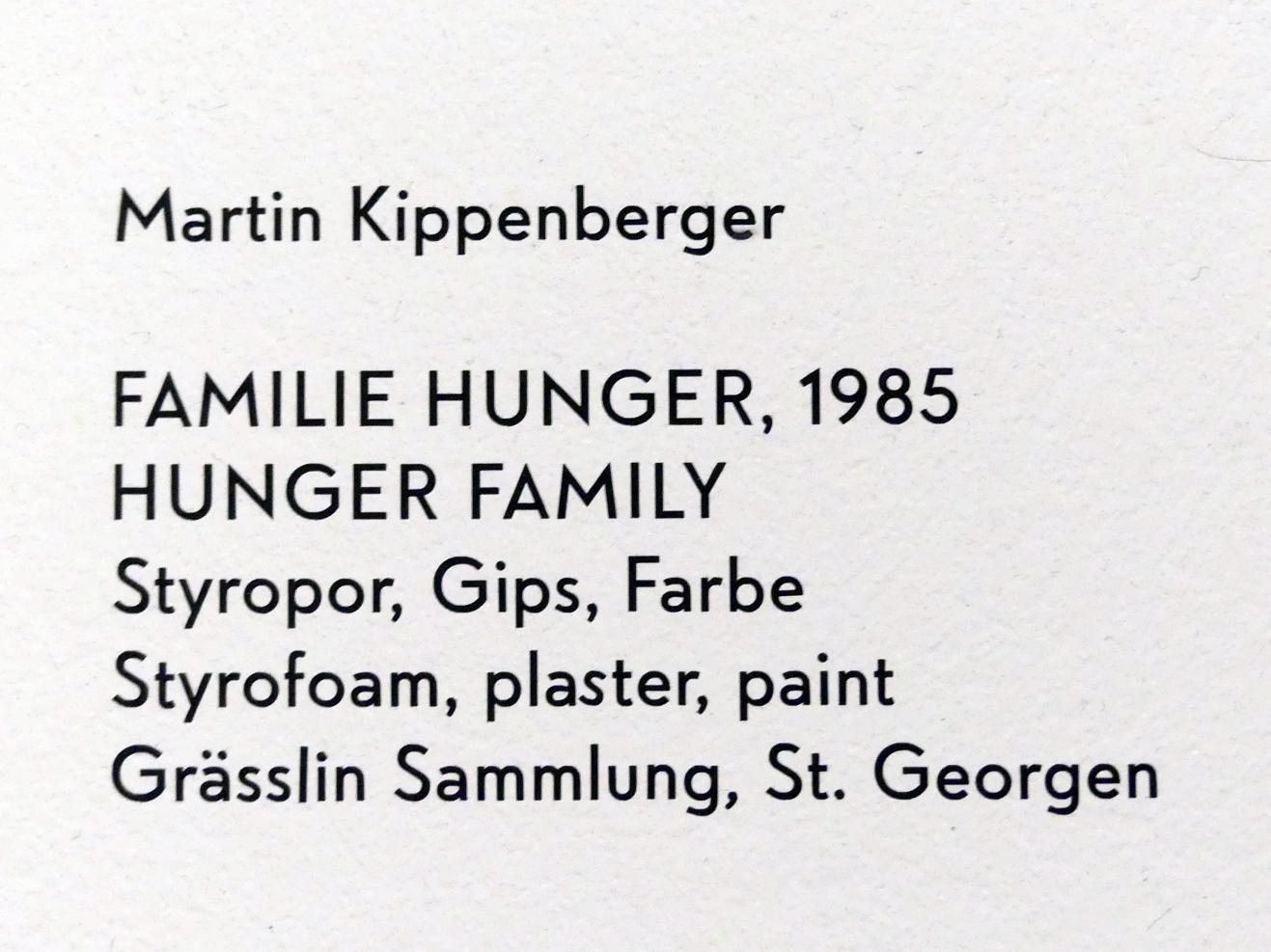 Martin Kippenberger: Familie Hunger, 1985, Bild 9/9