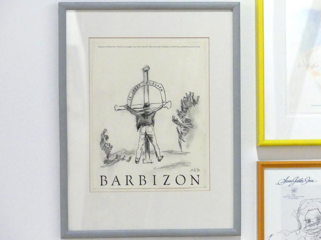 Martin Kippenberger: Ohne Titel (Barbizon), 1990