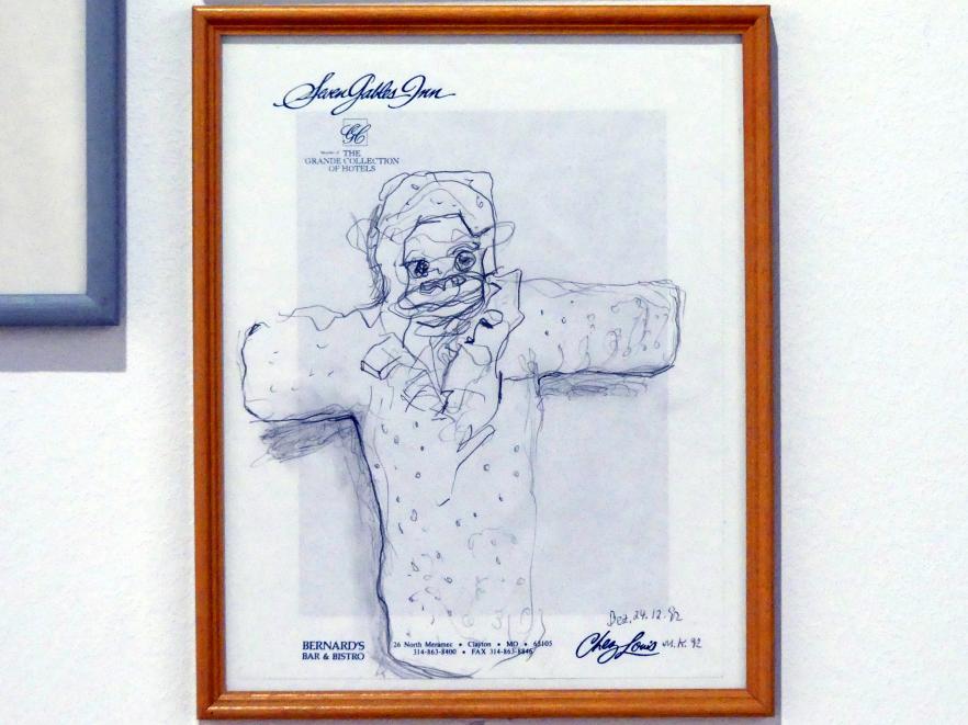 Martin Kippenberger: Ohne Titel (Seven Gables Inn), 1992