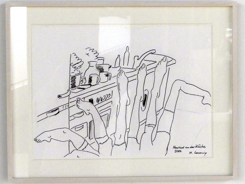 Maria Lassnig: Abschied von der Küche, 2004