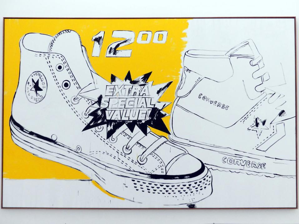 Andy Warhol: Converse Extra Special Value, 1985 - 1986