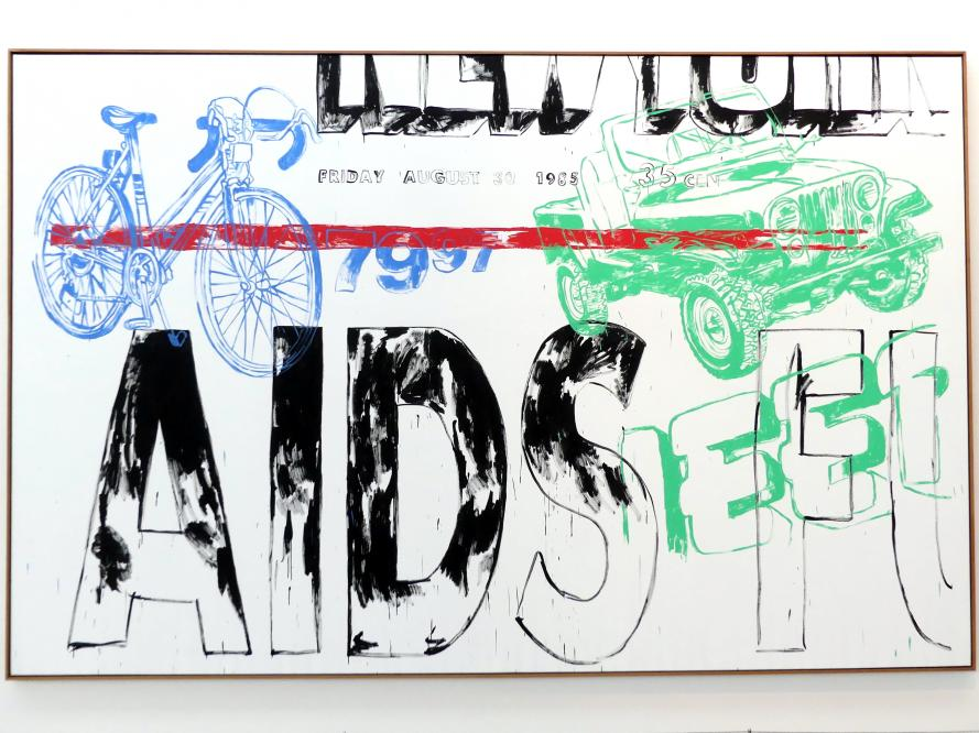 Andy Warhol: Aids/Jeep/Bicycle, 1985 - 1986