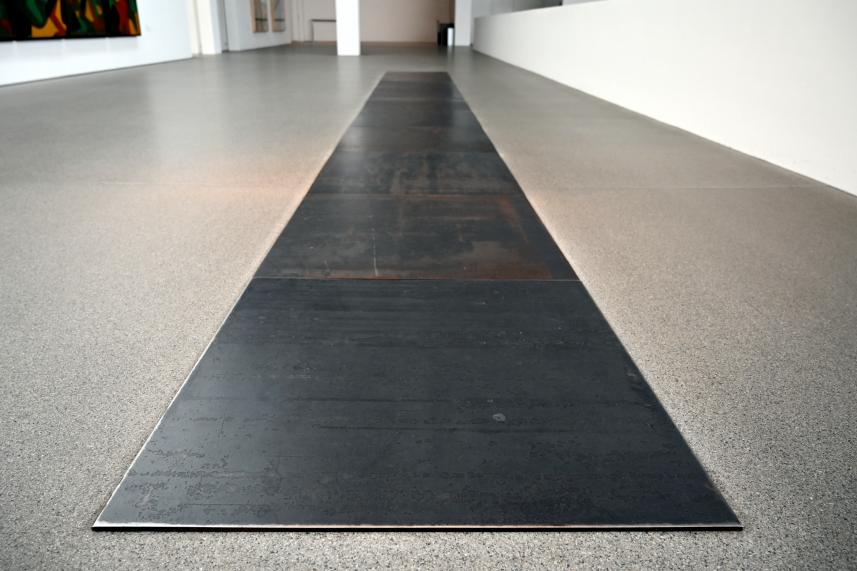 Carl Andre: 10 Steel Row, 1968