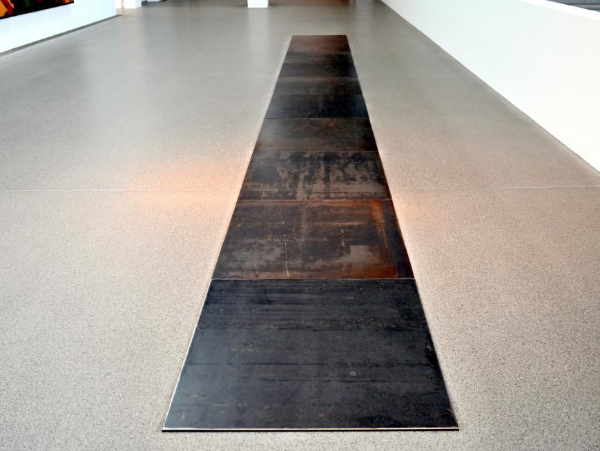 Carl Andre: 10 Steel Row, 1968, Bild 2/5