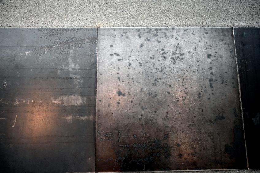 Carl Andre: 10 Steel Row, 1968, Bild 4/5