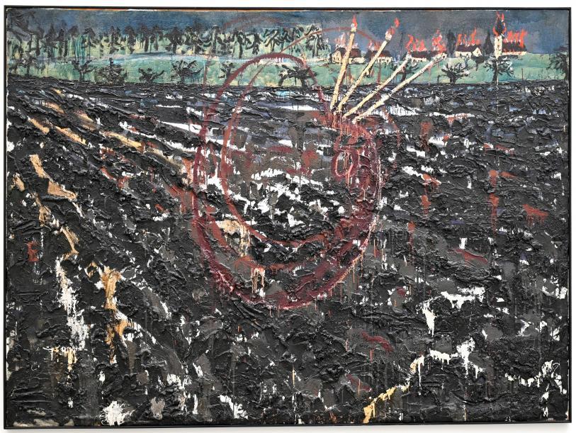 Anselm Kiefer: Nero malt, 1974