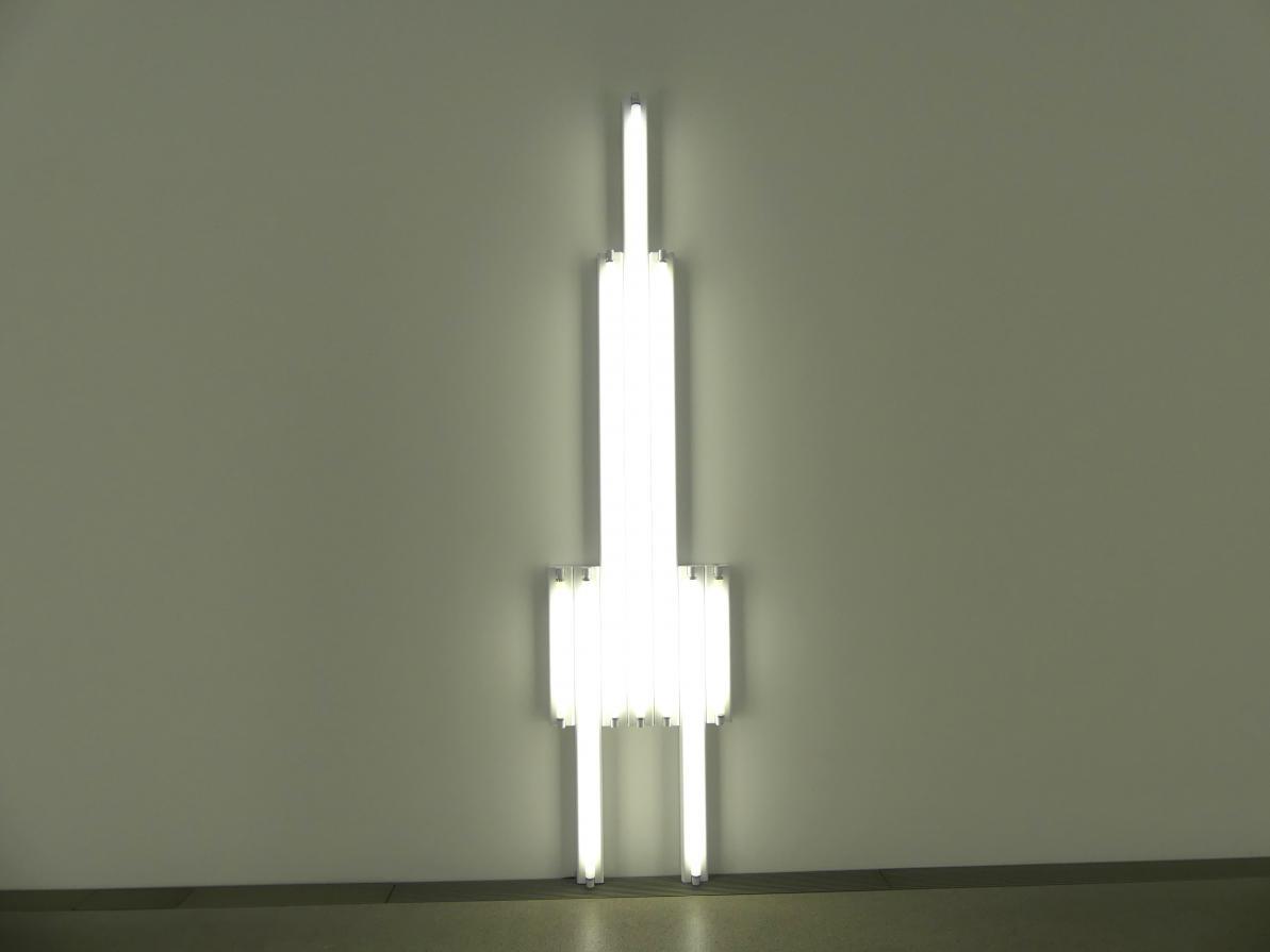 "Dan Flavin: ""monument"" for V. Tatlin, 1969"