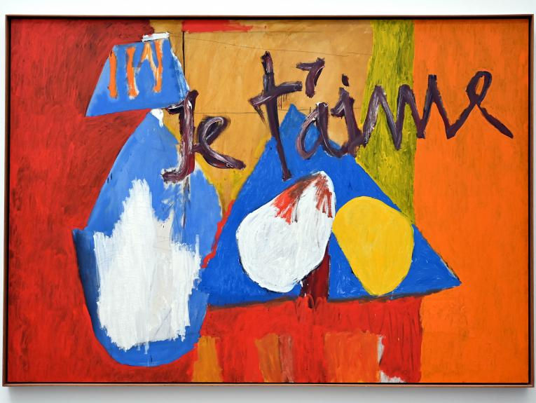 Robert Motherwell: Je t'aime, No. IV, 1955 - 1957