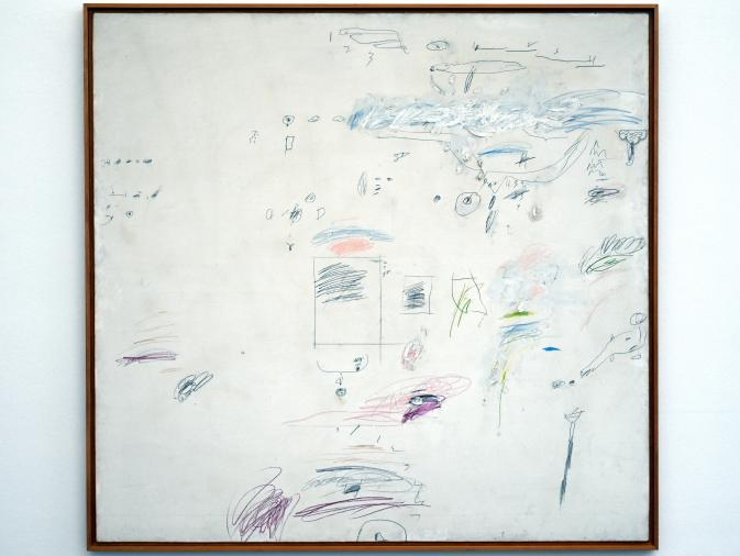 Cy Twombly: Odeion (Roma), 1960