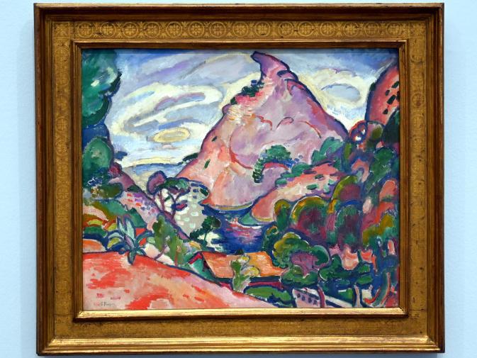 Georges Braque: La Calanque, temps gris - Calanque bei bewölktem Himmel, 1907