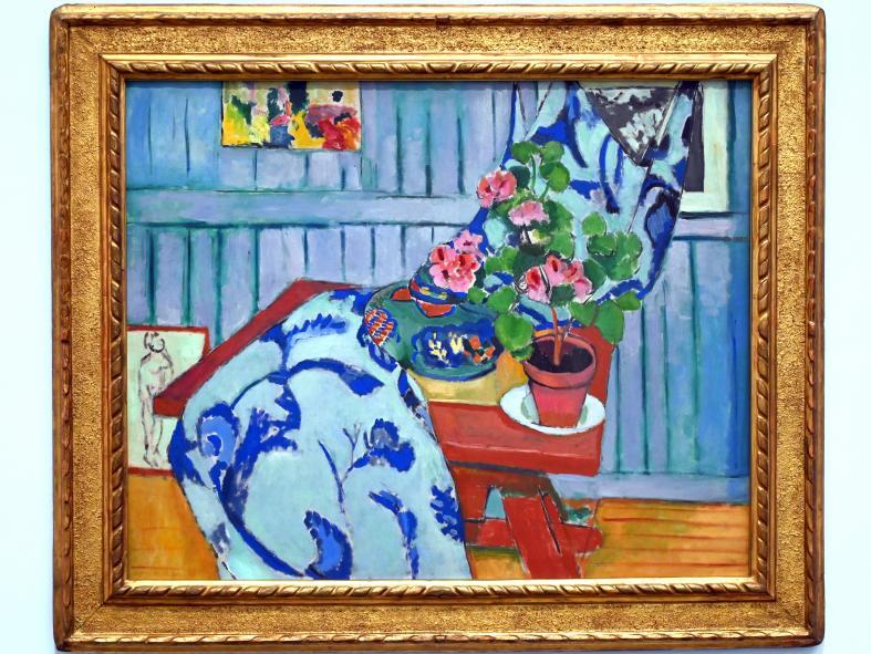 Henri Matisse: Nature morte aux géraniums - Stillleben mit Geranien, 1910