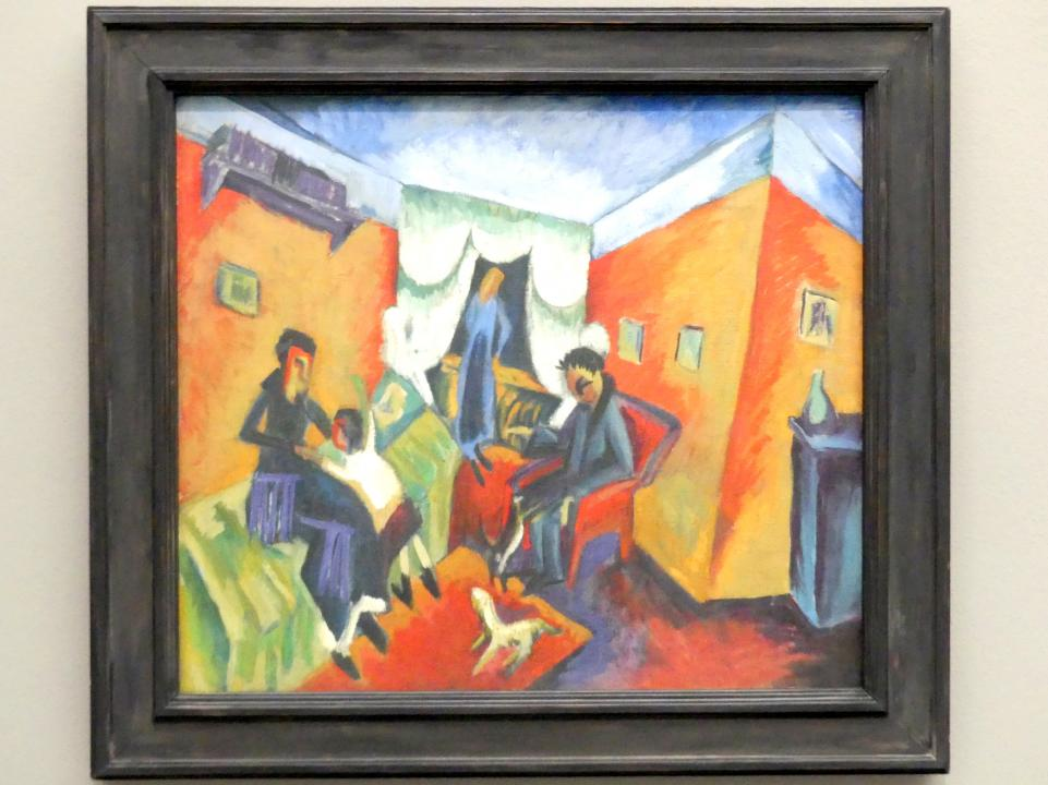 Ernst Ludwig Kirchner: Interieur, 1915