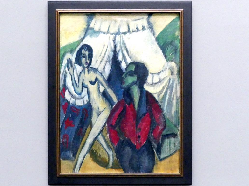 Ernst Ludwig Kirchner: Das Zelt, 1914