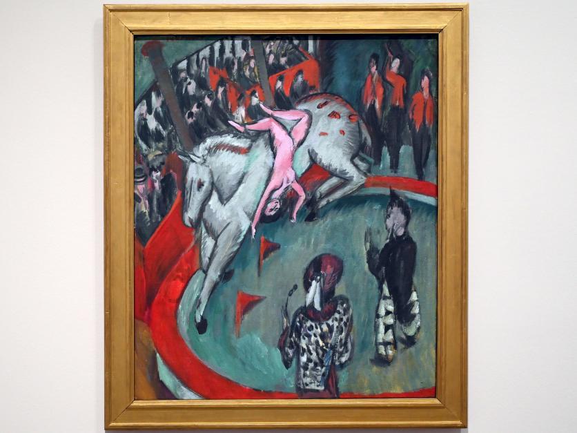 Ernst Ludwig Kirchner: Zirkus (Zirkusreiterin), 1913