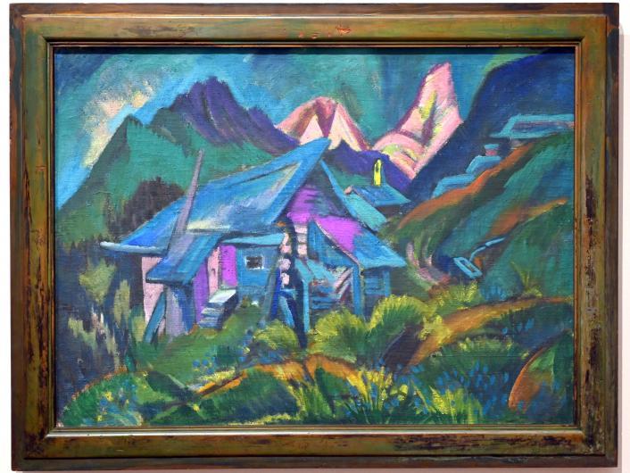 Ernst Ludwig Kirchner: Alphütten und Tinzenhorn, 1919 - 1920