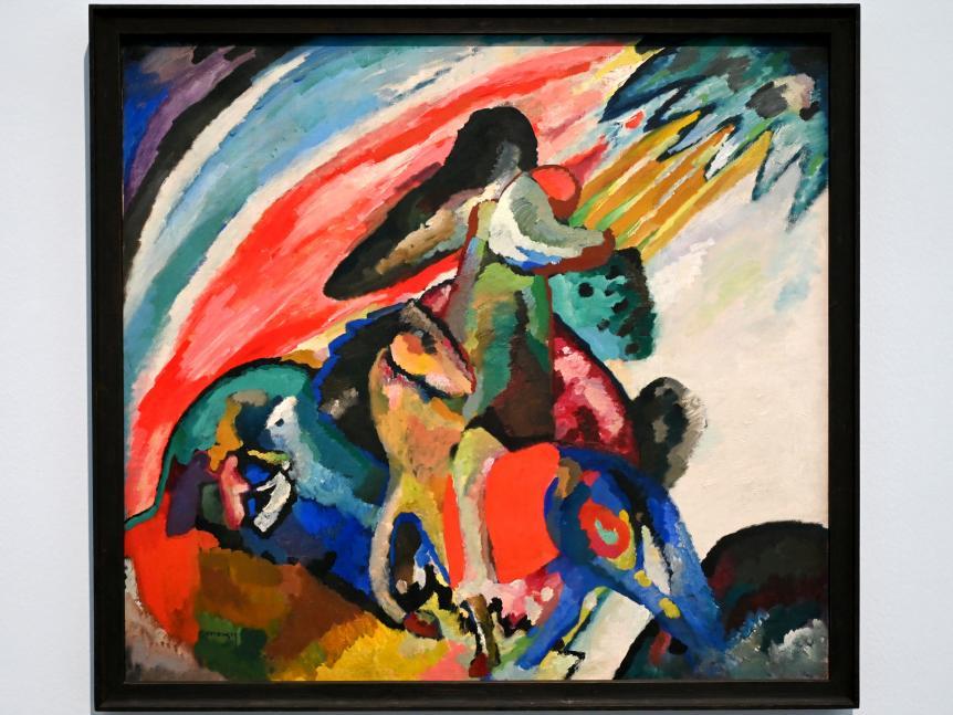 Wassily Kandinsky: Improvisation 12 (Der Reiter), 1910
