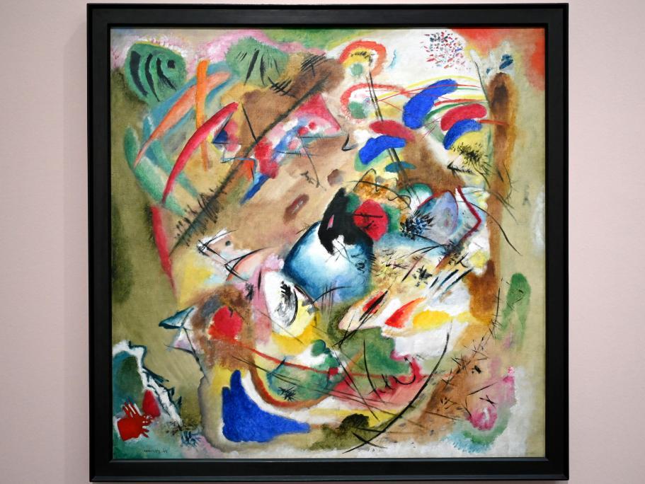 Wassily Kandinsky: Träumerische Improvisation, 1913