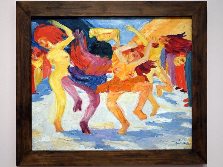 Emil Nolde: Tanz um das Goldene Kalb, 1910