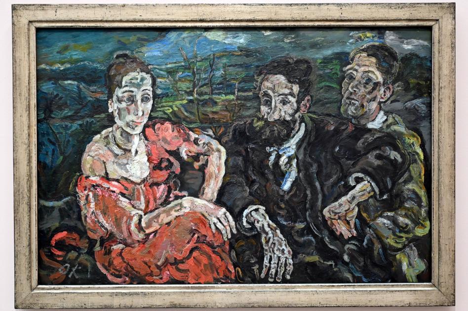 Oskar Kokoschka: Die Auswanderer, 1916 - 1917