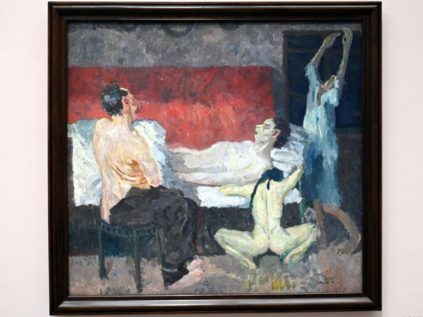 Max Beckmann: Große Sterbeszene, 1906