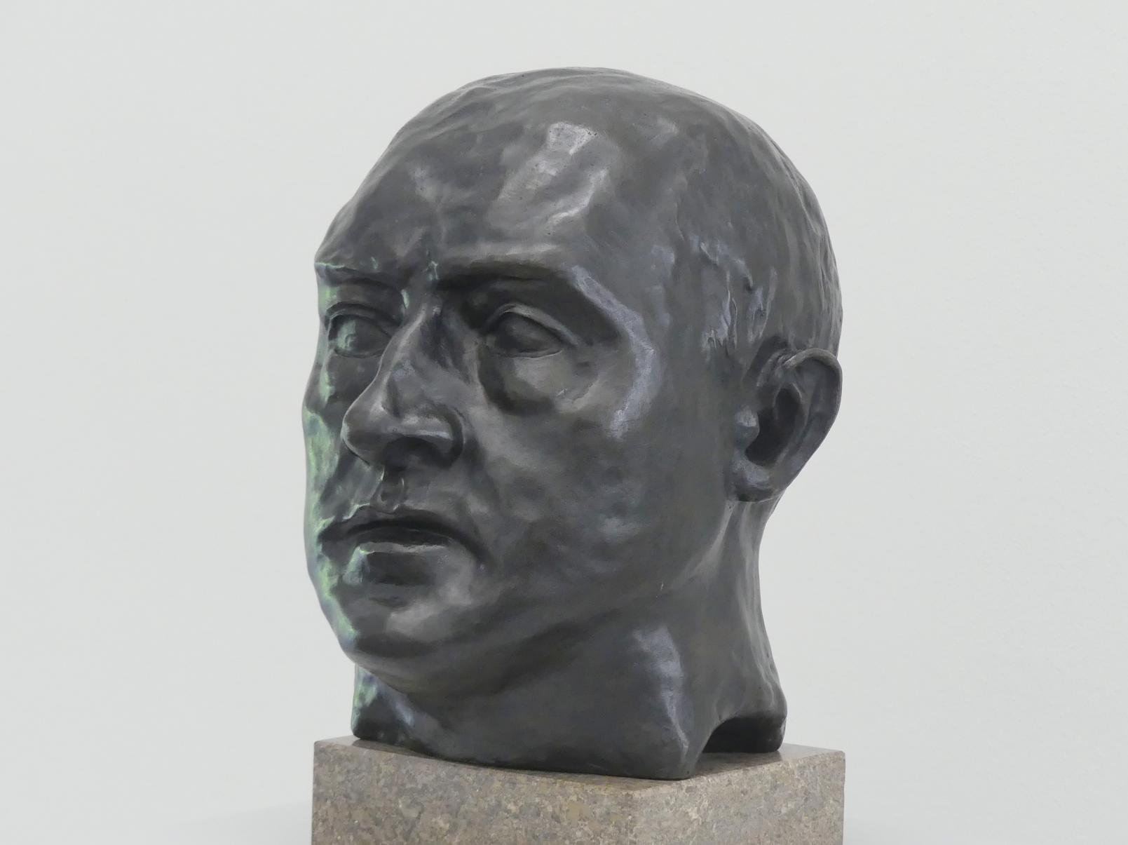 Max Beckmann: Selbstbildnis, 1936