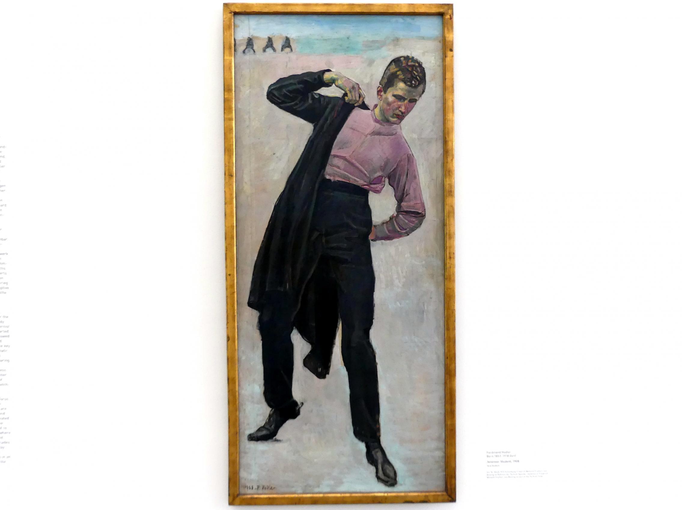 Ferdinand Hodler: Jenenser Student, 1908