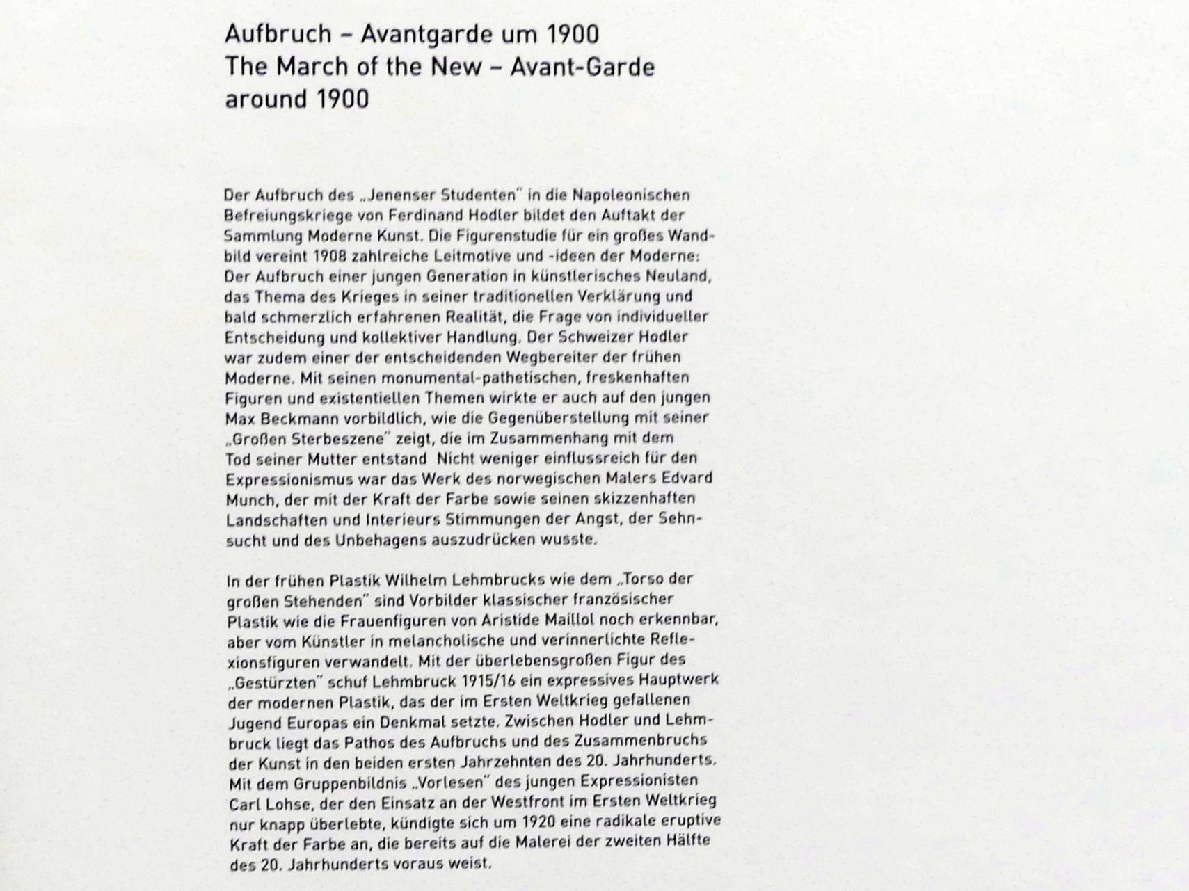 Ferdinand Hodler: Jenenser Student, 1908, Bild 3/4