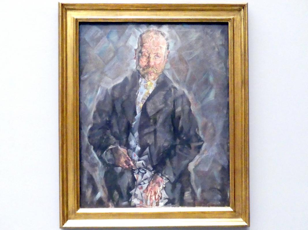 Max Oppenheimer: Bildnis Heinrich Thannhauser, 1913