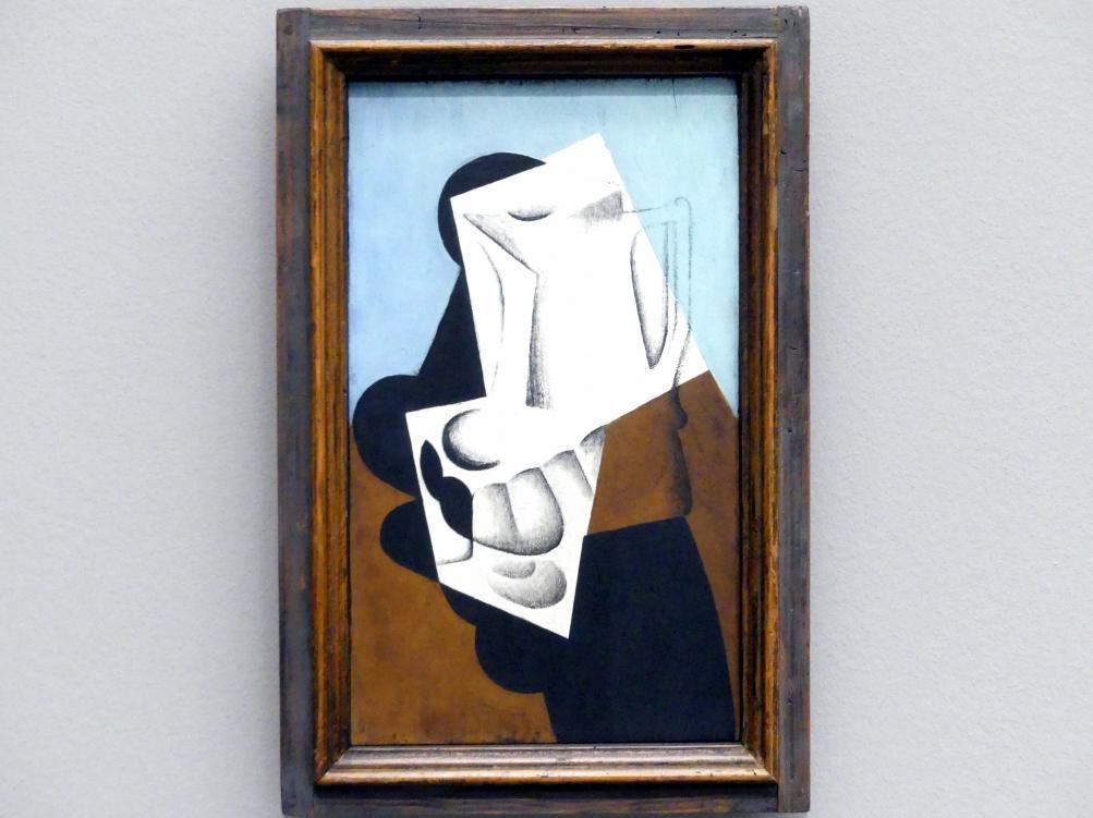 Juan Gris: Cruche et verre sur une table - Stillleben mit Krug und Glas, 1916