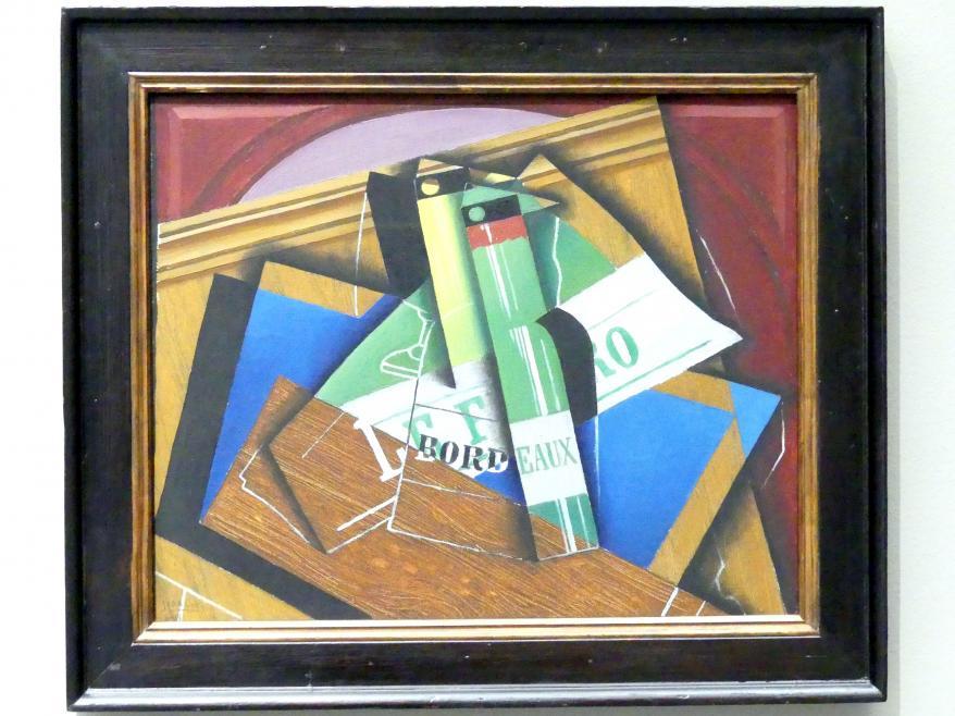 Juan Gris: La Bouteille de Bordeaux - Die Bordeauxflasche, 1915