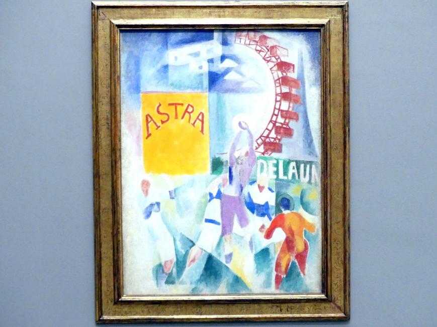 Robert Delaunay: L'Équipe de Cardiff, 1913