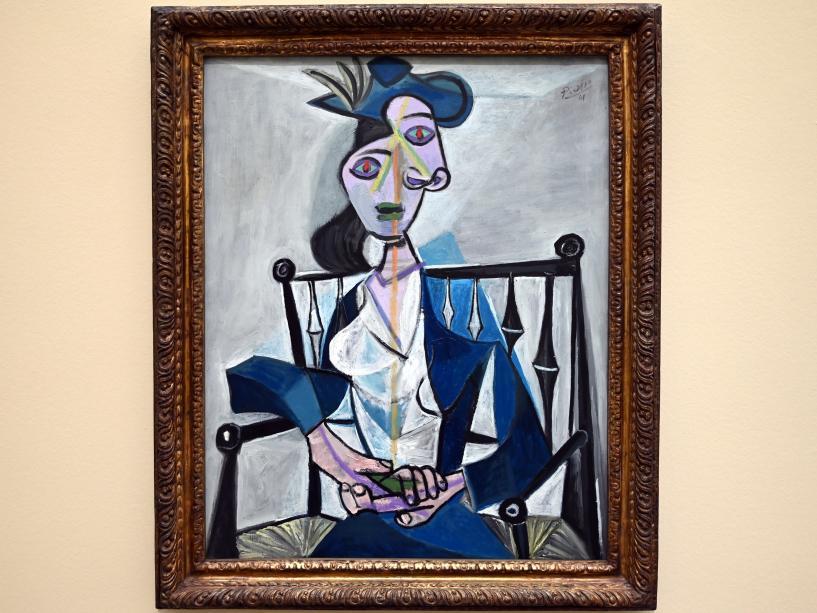 Pablo Picasso: Femme assise au fauteuil: Dora Maar - Sitzende Frau: Dora Maar, 1941