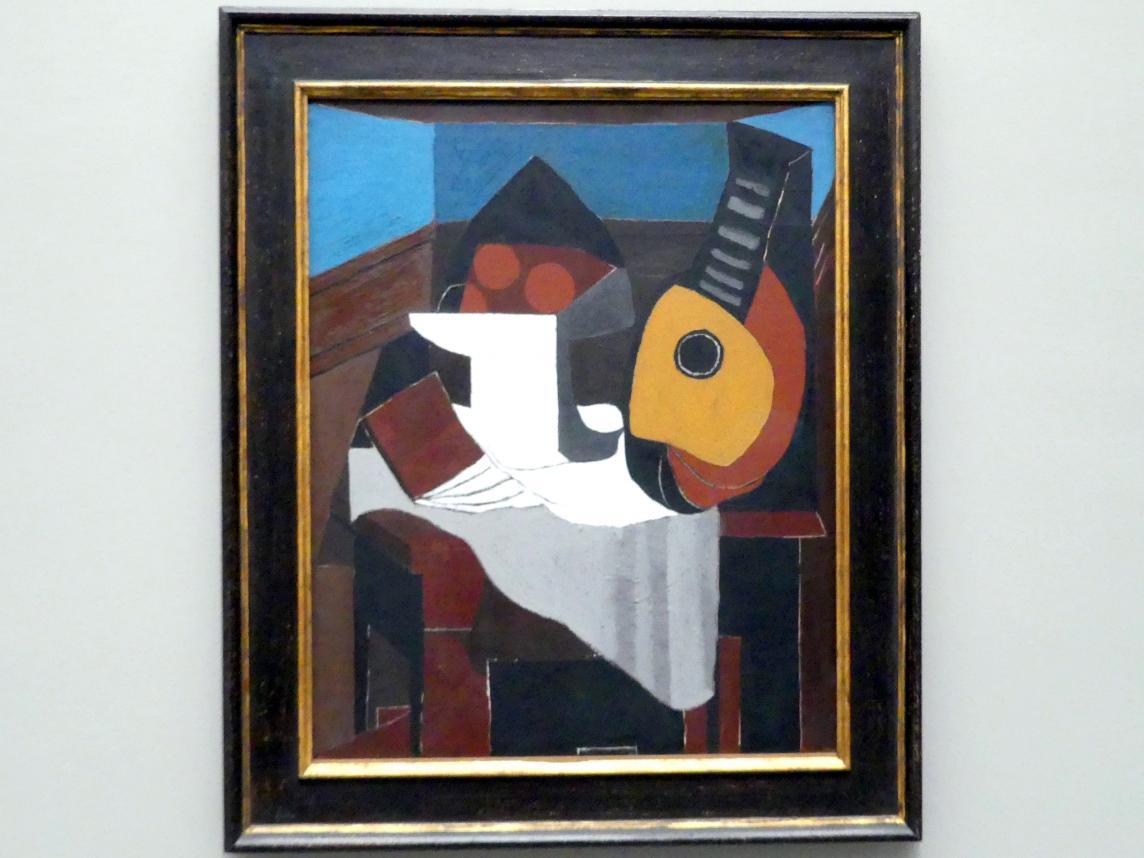 Pablo Picasso: Livre, compotier et mandoline - Buch, Obstschale und Mandoline, 1924