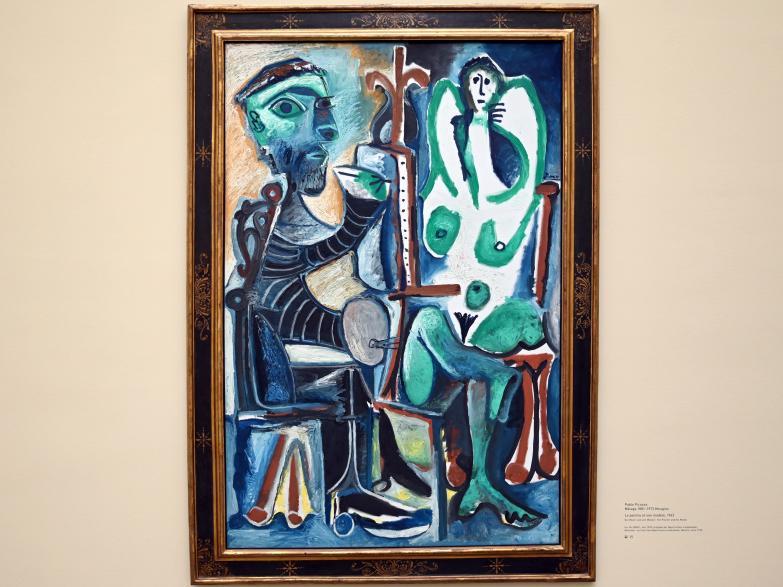 Pablo Picasso: Le peintre et son modèle - Der Maler und sein Modell, 1963