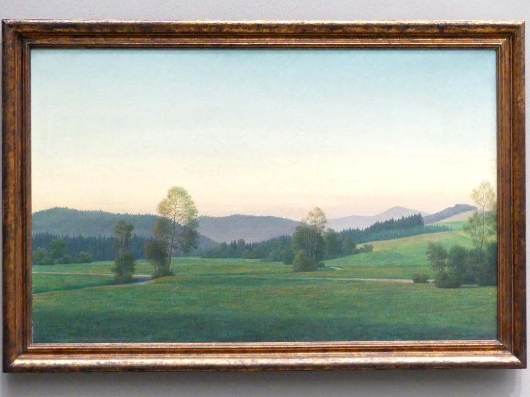 Georg Schrimpf: Landschaft im Bayerischen Wald, 1933