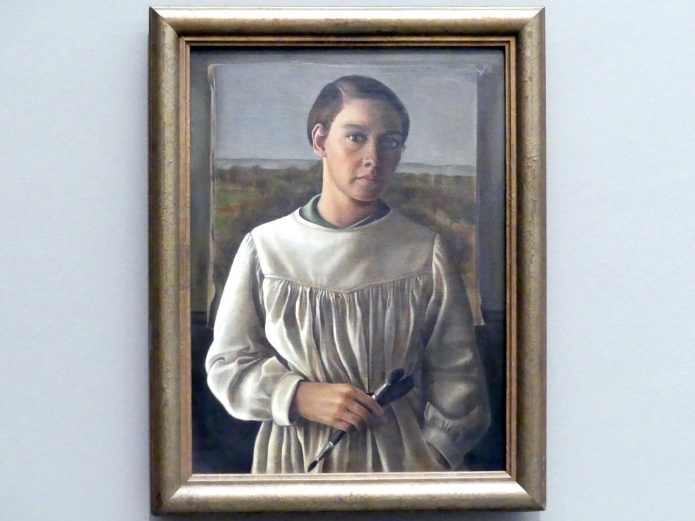 Fridel Dethleffs-Edelmann: Selbstbildnis, 1932