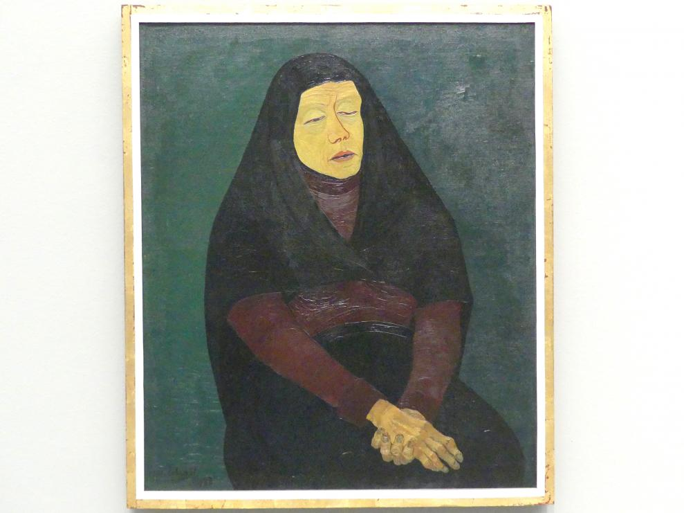 Josef Scharl: Trauernde Mutter, 1933