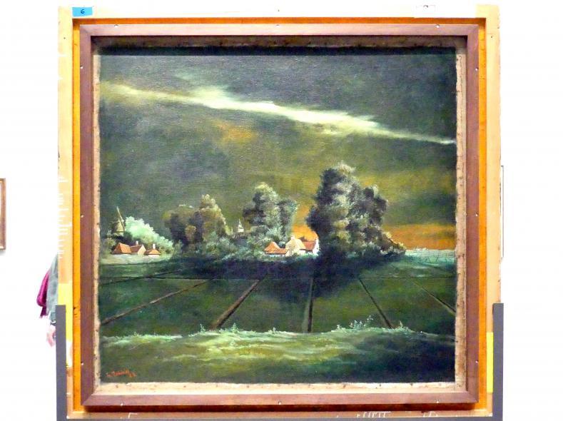 Franz Radziwill: Gewittrige Landschaft, um 1925