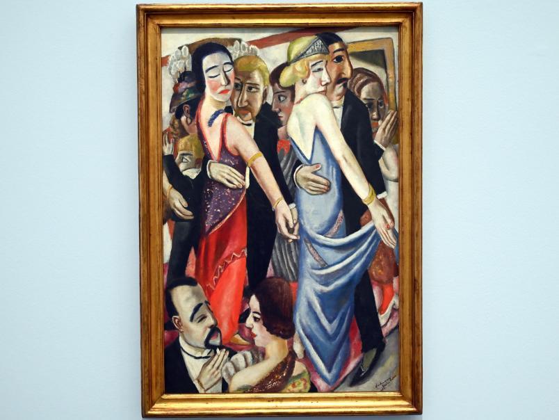 Max Beckmann: Tanz in Baden-Baden, 1923