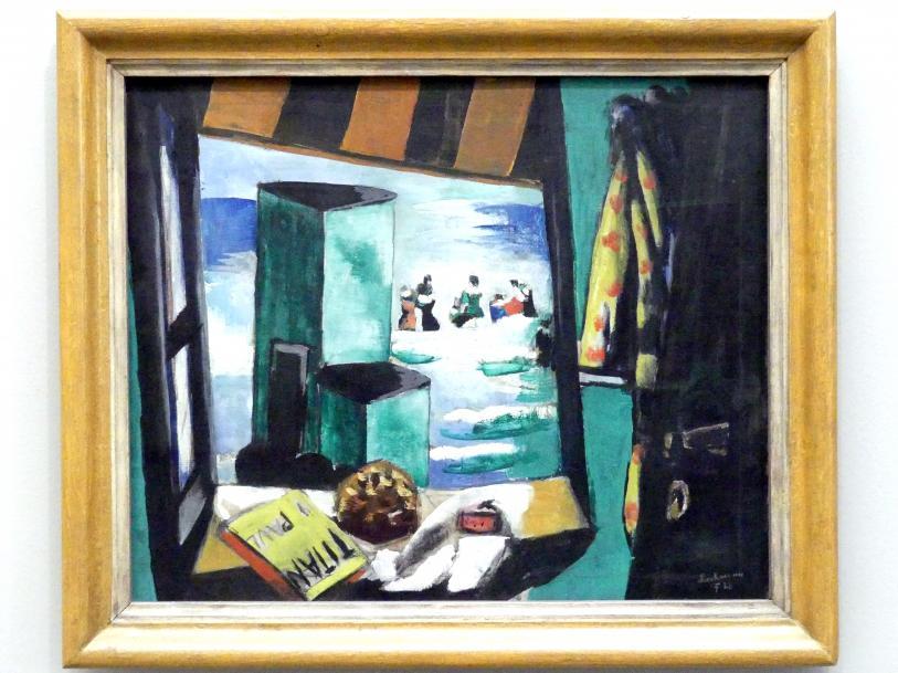 Max Beckmann: Badekabine (grün), 1928