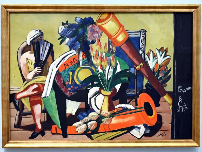 Max Beckmann: Großes Stillleben mit Fernrohr, 1927