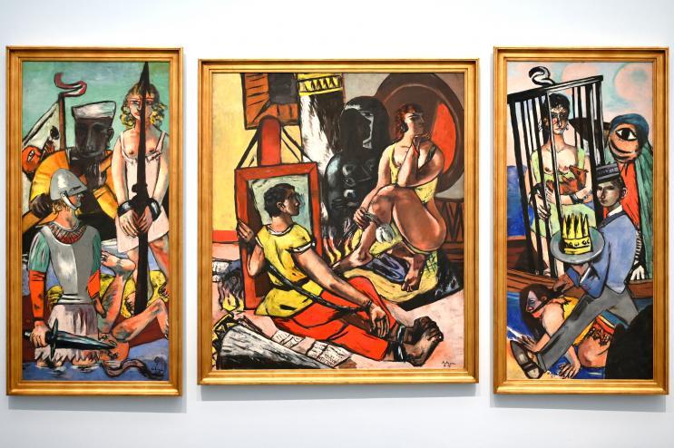Max Beckmann: Versuchung (Versuchung des Heiligen Antonius), 1936 - 1937