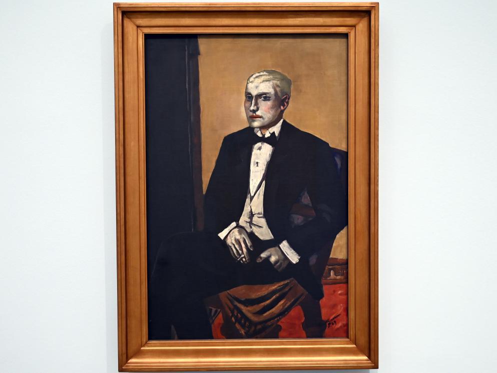 Max Beckmann: Bildnis eines Argentiniers, 1929