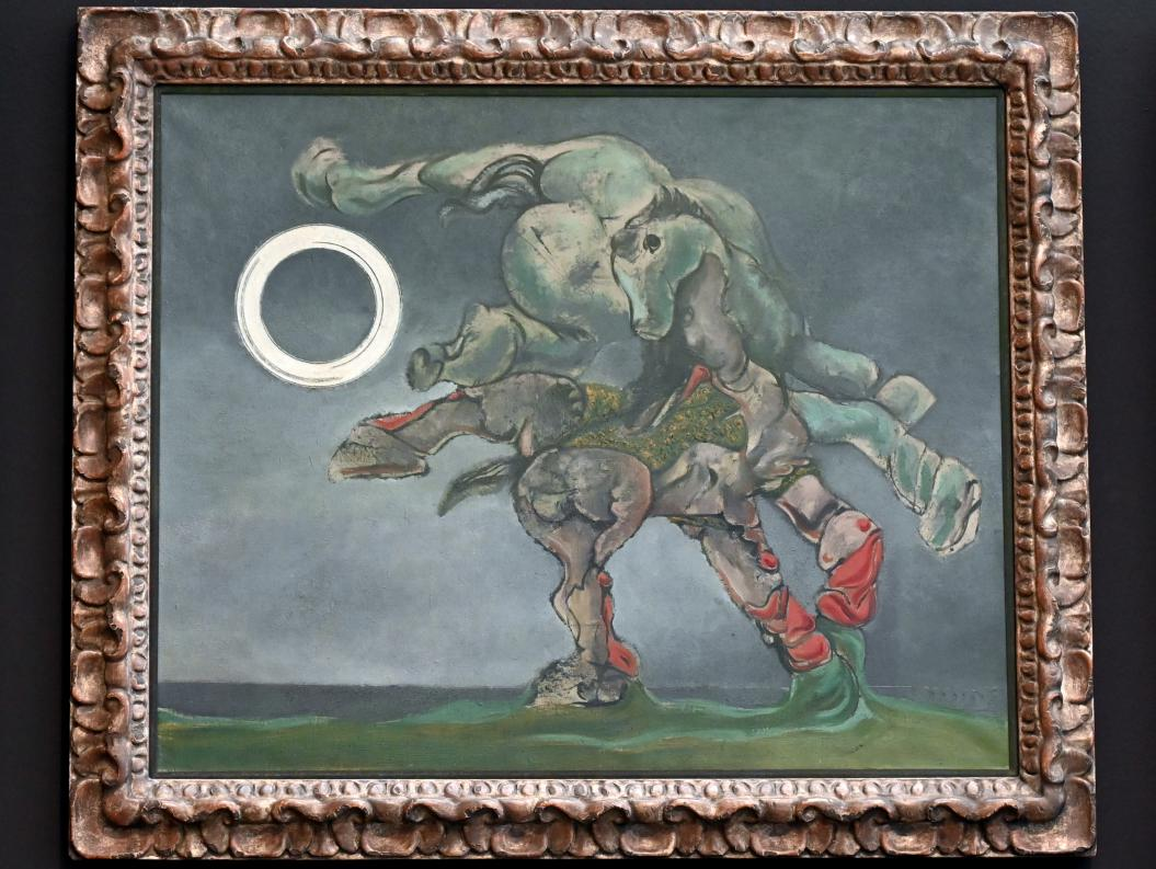 Max Ernst: La mariée du vent II - Die Windsbraut II, 1927