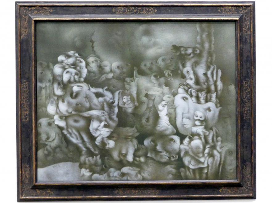 Richard Oelze: Erfindung eines Traums, 1966