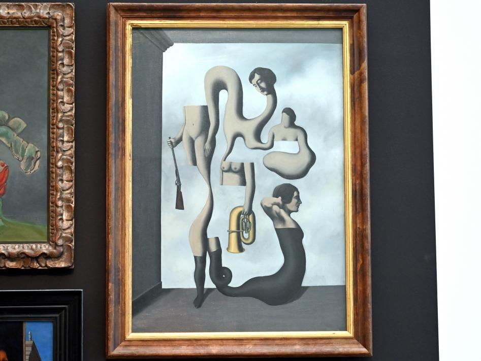 René Magritte: Les idées de l'acrobate - Die Ideen der Akrobatin, 1928