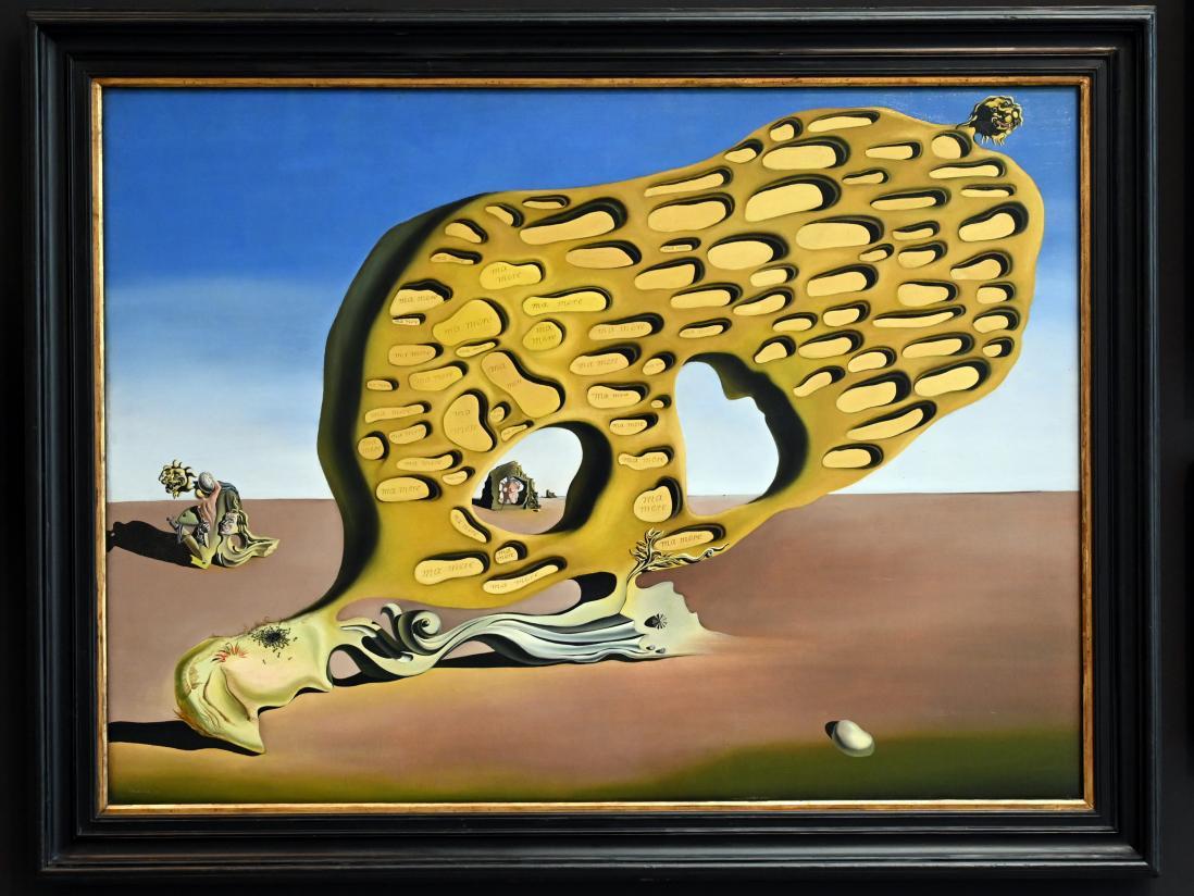 Salvador Dalí: L'énigme du desir - Das Rätsel der Begierde, 1929