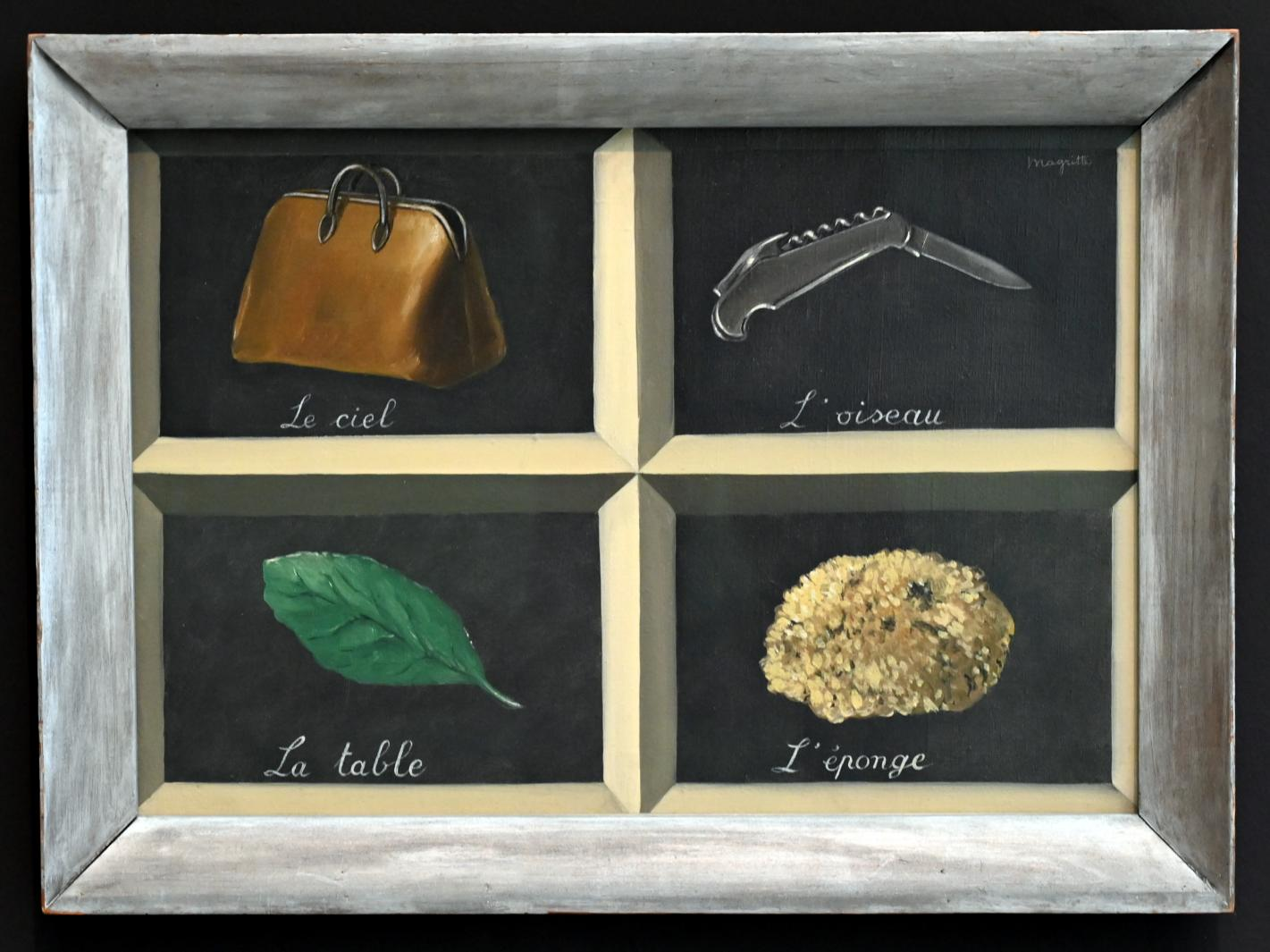 René Magritte: La clef des songes - Der Schlüssel der Träume, 1927