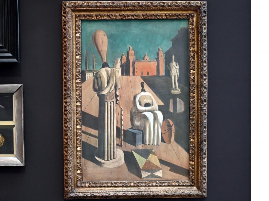 Giorgio de Chirico: Le muse inquietanti - Die beunruhigenden Musen, 1917