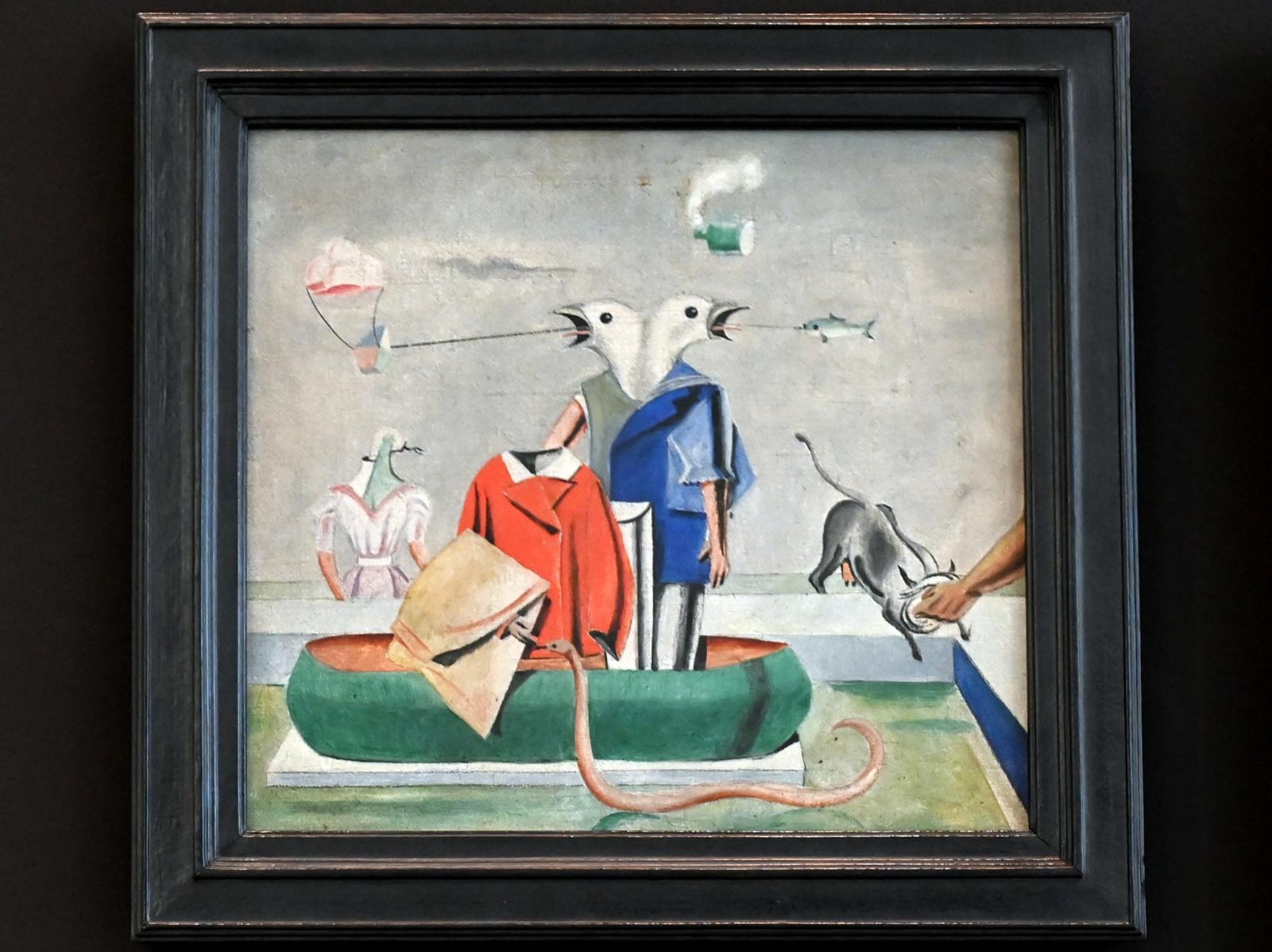 Max Ernst: Vögel (Vögel, Fisch-Schlange; Vogelschreck), um 1921